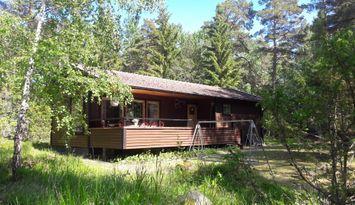 Stuga nära Herräng Dance camp, 200 m till havsvik