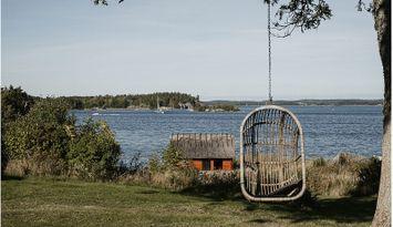Unik skärgårdstorp på privat ö med landförbindelse