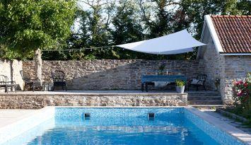 Lägenhet på Ölandsgård med pool