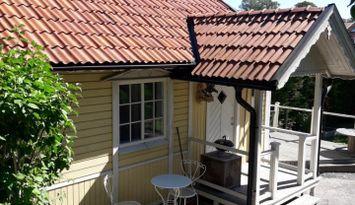 Liten stuga nära Stockholm