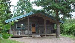 Holzhäuschen in der Nähe von Vimmerby