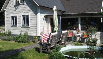 Charmigt hus , Närs socken på Sydöstra Gotland,