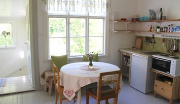 Del av hus i norra Dalsland