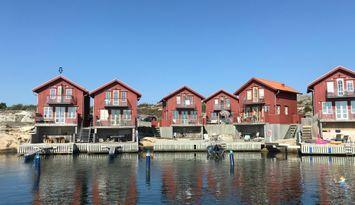 Underbart hus precis vid vattnet för 4-5 personer