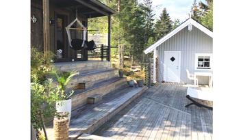 Fin liten stuga i Sankt Anna Skärgård