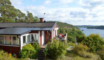 Lillängsdal Ingarö panorama havsutsikt nära strand