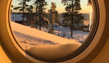Branäs ink slutstäd Ski in ski out med badtunna