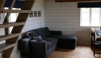 Nyrenoverad stuga i Lövbergs fäbod, Mora