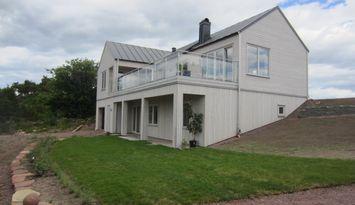 Nybyggd lägenhet med utsikt över Kalmarsund