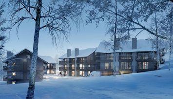 Ski-in/out, Lindvallen, Sälen, Nybyggd lägenhet