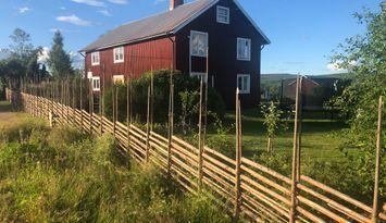 Mysigt och bekvämt hus nära Järvsö med sjöutsikt