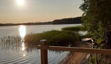 Timmerstuga med 4 bäddar, Sikudden Östra Laxsjön