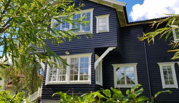 """""""Glada Huset"""", skärgårdsidyllen Resarö, Vaxholm"""