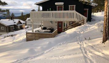 Björnrike Feriewohnung am Skiweg mit Blick & Sauna