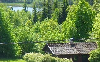 Hult,nahe dem See Åsunden,Västergötland