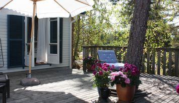 Charmigt sommarhus på Ingarö nära natur & ständer