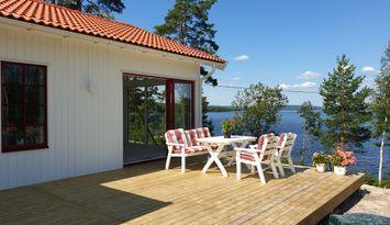 Neugebautes Ferienhaus am See Runn