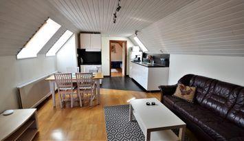 Nyrenoverad lägenhet innanför Visby ringmur