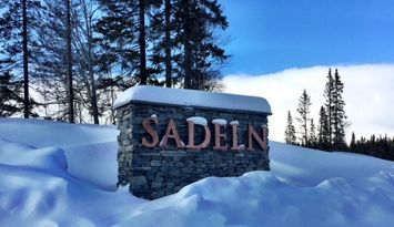 Åre-Sadeln ski in/ski out