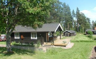 Timrad stuga i natursköna Siljansnäs nära Leksand