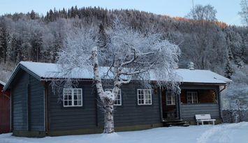 Stuga nära Branäs och Långberget med bastu