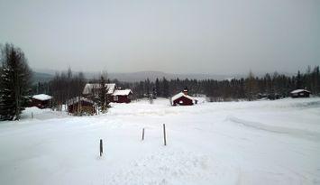 Gebirgshütte in Funäsdalen mit Aussicht
