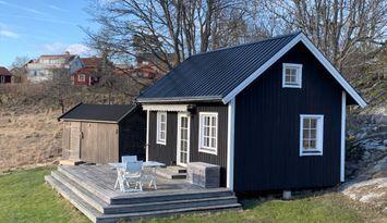 Hyr mysig stuga på Runmarö i skärgården!
