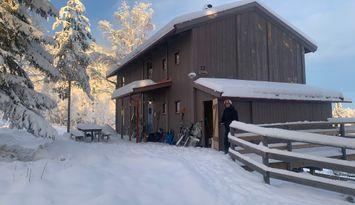 I pisten i Järvsöbacken - Syd - Stuga Björnen