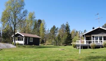 Sjönära stuga i toppskick på Vätö