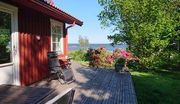 Fritidshus i Hagbyhamn vid Kalmar Sund