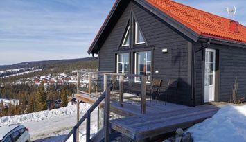 Härligt hus med högt läge på Klockarfjället v5 v16