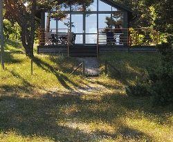 Lyxvilla med havsutsikt Yngsjö nära Åhus, Österlen