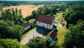 The Linné house, Vamlingbo Vicarage, Gotland