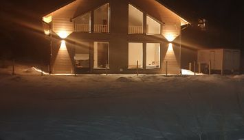 Stuga med Ski in Ski out läge