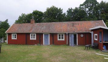Öland, Lantlig huslänga i Röhälla, Färjestaden
