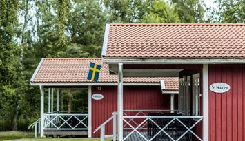 12-bädds stuga nära Läckö Slott