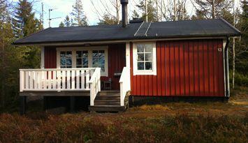Hemtrevlig stuga vid Långbergets skidanläggning