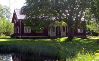 Baggekvarn - gammal kvarnmiljö vid Ätran