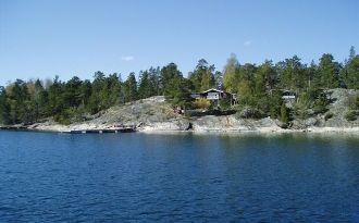 Seashore auf Ornö Stockholmer Schären