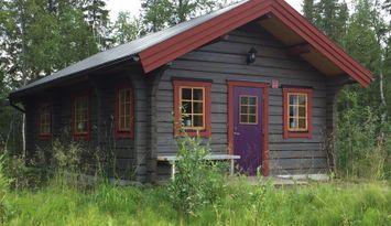 Mysig timmerstuga i Kittelfjäll