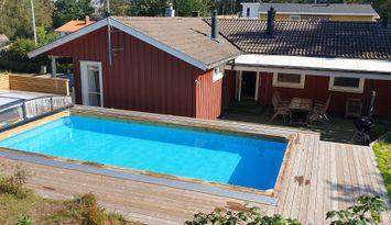 Fritidshus Fjällbacka, Bräcke, uppvärmd pool