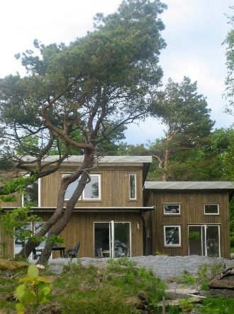Magnificent seaview modern house close Marstrand