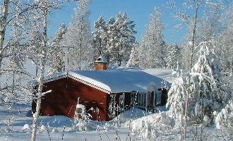 Stuga på Harsa i Järvsö