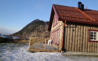 Trevlig villa med bra läge i Funäsdalen