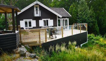 Fantastiskt hus i Ronnebys skärgård, 50 m från hav