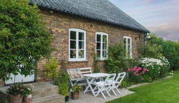 100 year old idyllic stone house