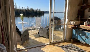 Stuga Precis vid Sjön (Sämsjön) Süd -Sverige