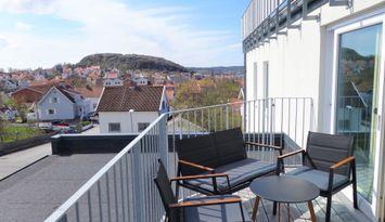 Modern lägenhet i vackra Hunnebostrand