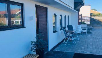 Central och havsnära lägenhet i Varberg