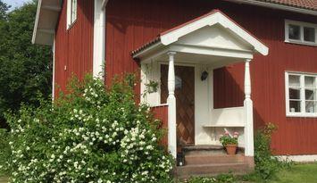 Stuga på lantgård Rättvik